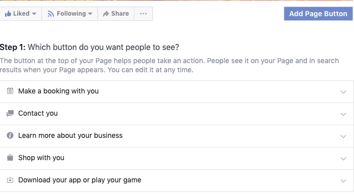 3.connect google calendar to facebook page make a booking