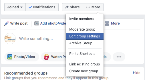 How To Create A Facebook Group For Business 10