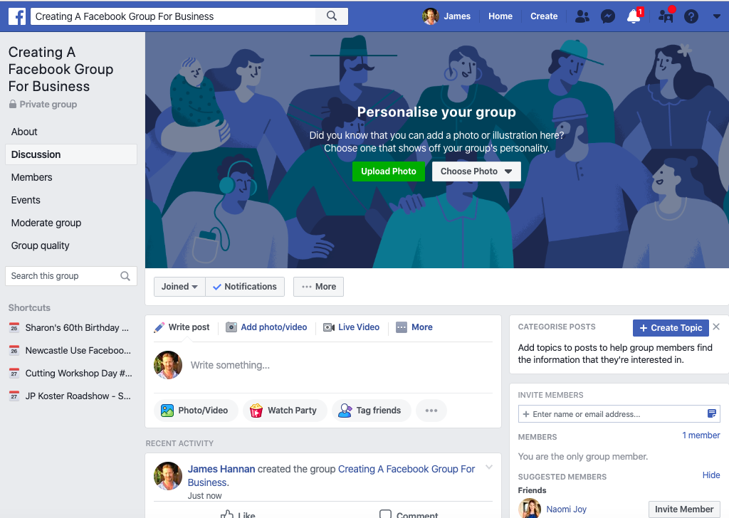 How To Create A Facebook Group For Business 6