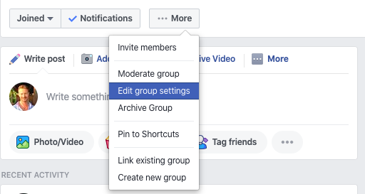 How To Create A Facebook Group For Business 7