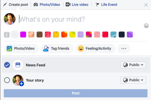 How to Create a Facebook Story 4