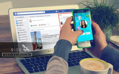 how to create a facebook story