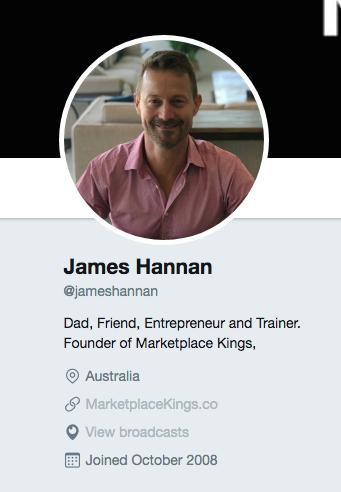 Market On Twitter: Setup your twitter profile 2